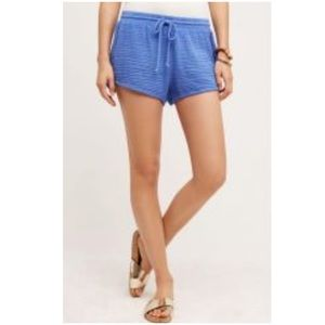 Anthropologie Cloth & Stone Beach Day Shorts New L